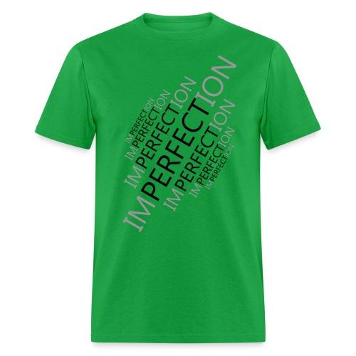 Perfect Imperfection black - Men's T-Shirt