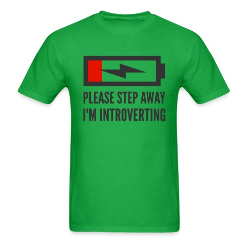 introverting - Men's T-Shirt