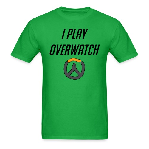 iplayoverwatch png - Men's T-Shirt