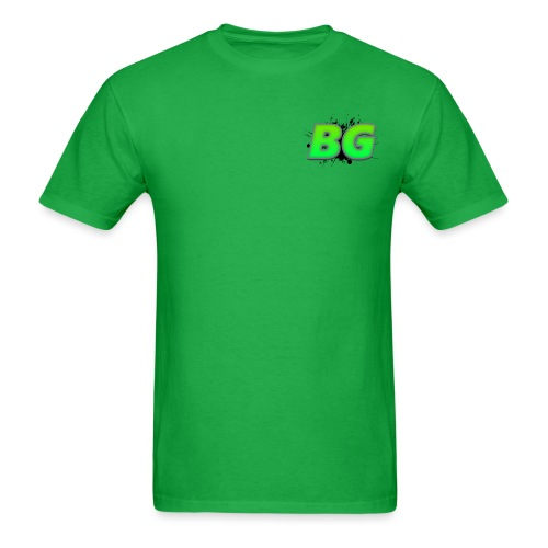 BBGrieve Small Logo (BG) - Men's T-Shirt
