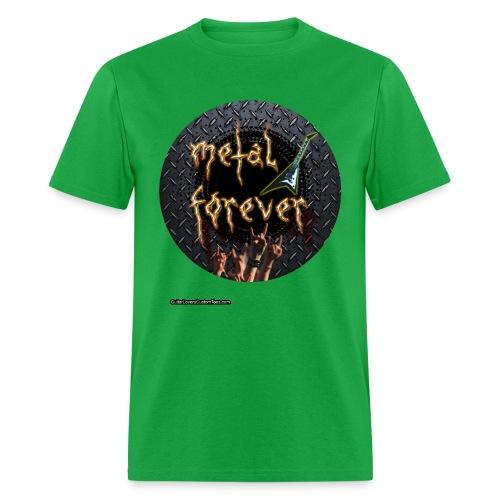 MetalForever by GuitarLoversCustomTees png - Men's T-Shirt