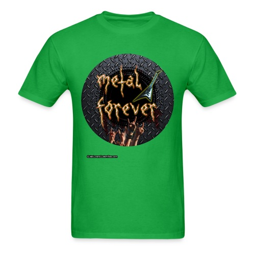 MetalForever by GuitarLoversCustomTees png - Men's T-Shirt