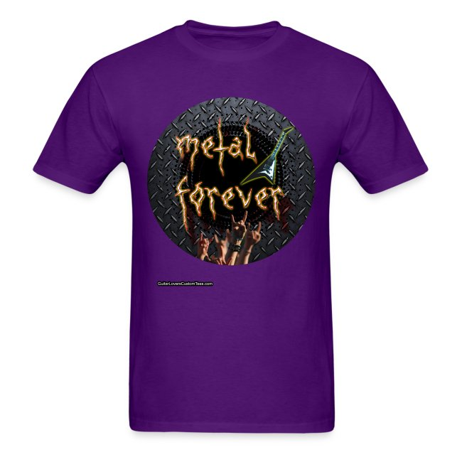 MetalForever by GuitarLoversCustomTees png