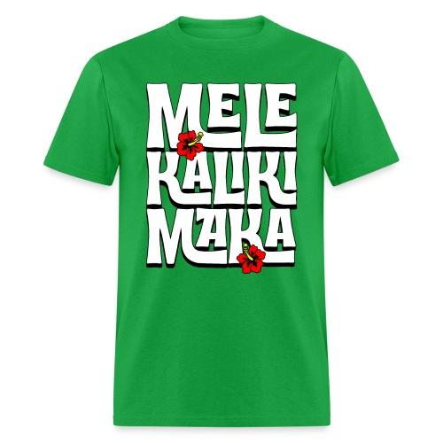 Mele Kalikimaka Hawaiian Christmas Song - Men's T-Shirt