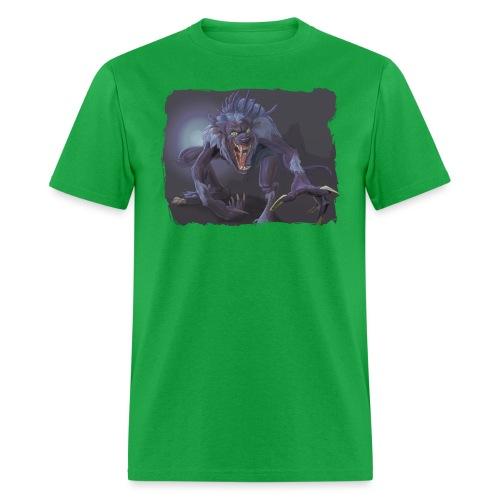 full moon risen - Men's T-Shirt