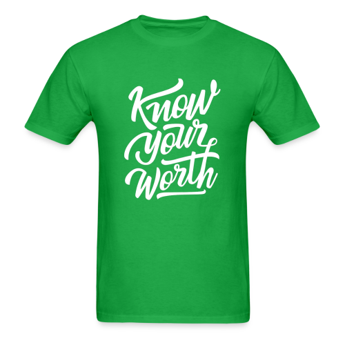 Know Your Worth - Men's T-Shirt