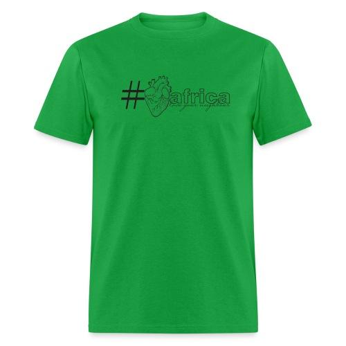 Hashtag Heart Africa - Men's T-Shirt