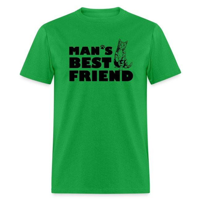 Man's Best Friend Cat Logo