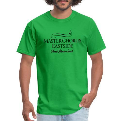 Master Chorus Eastside logo in black - Men's T-Shirt