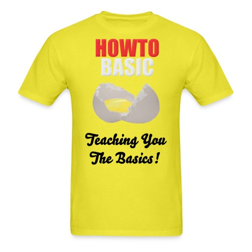 howtobasic3 combined - Men's T-Shirt