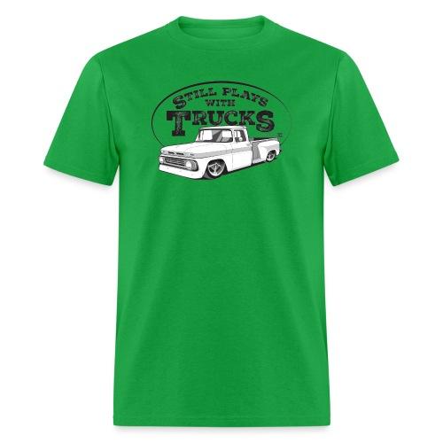 62C10BaggedLongStep BLK - Men's T-Shirt
