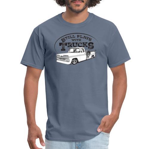 60C10BaggedLongStep BLK - Men's T-Shirt