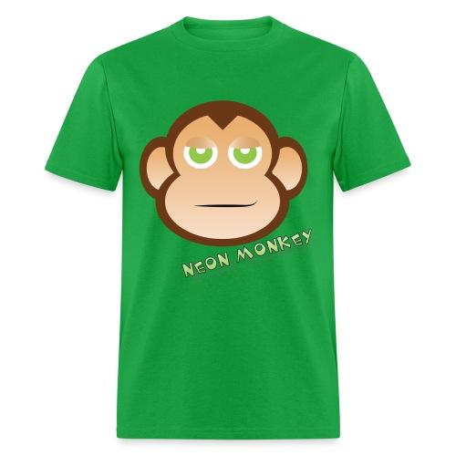 Neon Monkey png - Men's T-Shirt
