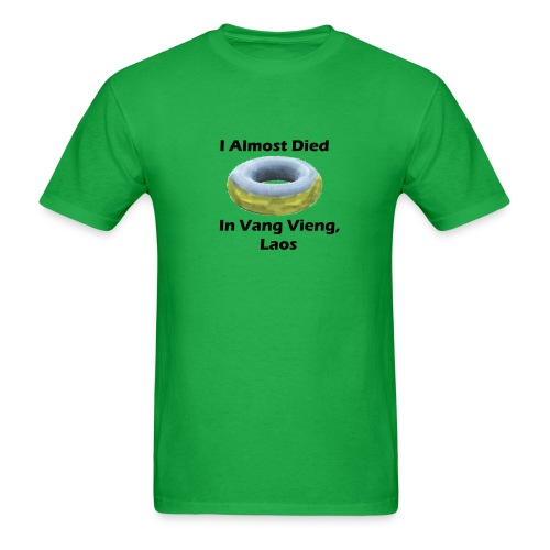 vang v tubing - Men's T-Shirt