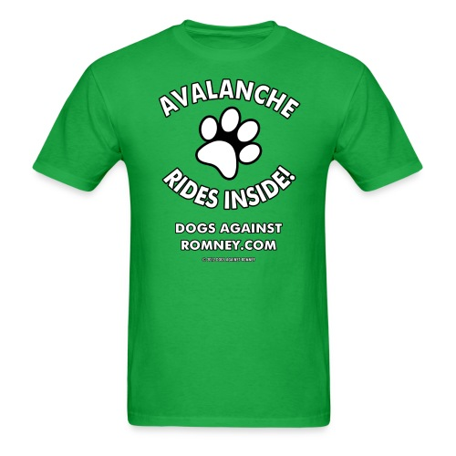 avalanche w m - Men's T-Shirt