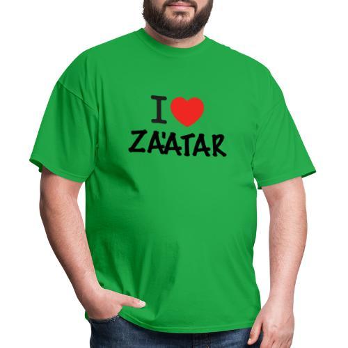 i love zaatar 1 - Men's T-Shirt