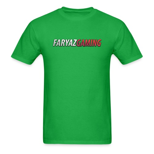FaryazGaming Text - Men's T-Shirt