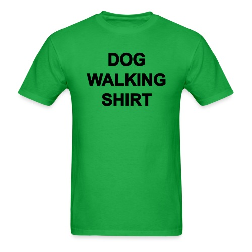 Dog Walking Shirt - Men's T-Shirt