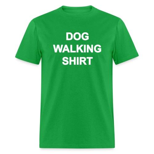 Dog Walking Shirt - Men's T-Shirt