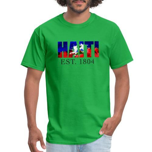 HAITI EST. 1804 - Men's T-Shirt