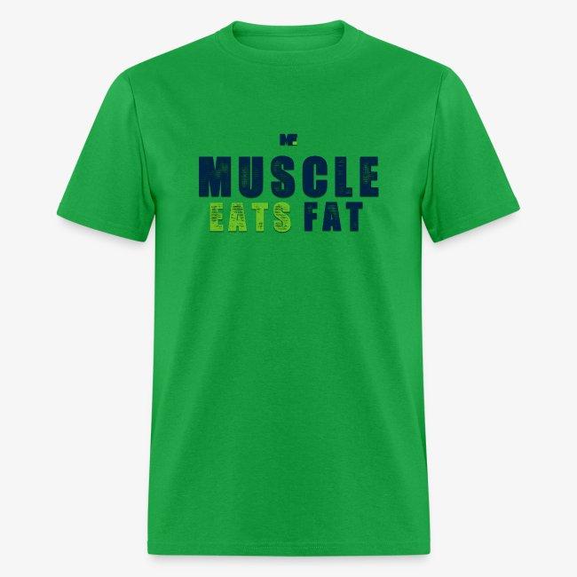 Muscle Eats Fat (Seahawks Blue)