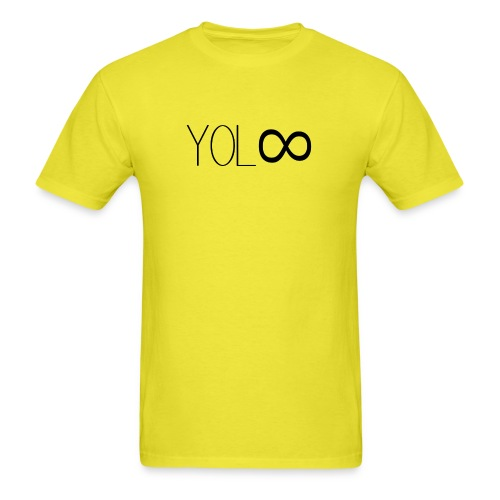 You Only Live Infinity - Men's T-Shirt