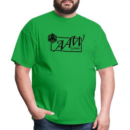 AAW Games (black logo) - Men's T-Shirt