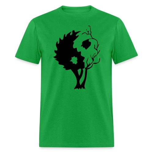 in tree black - Men's T-Shirt