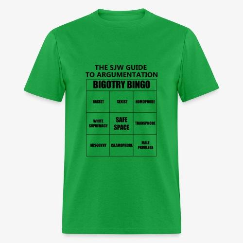 Bingo black - Men's T-Shirt