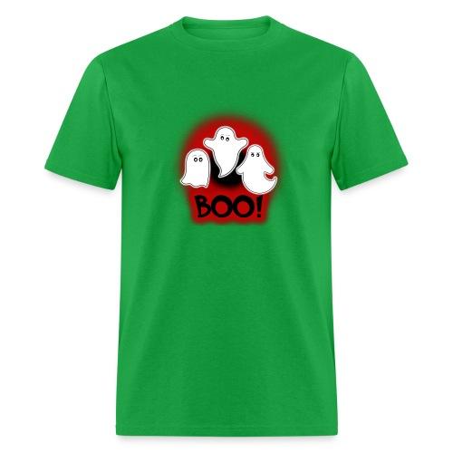 Ghosties Boo Happy Halloween 8 - Men's T-Shirt