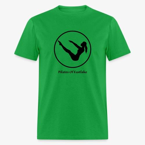 Pilates Of Eastlake Logo - Men's T-Shirt
