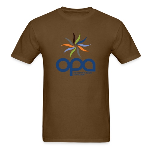 Short-sleeve t-shirt with full color OPA logo - Men's T-Shirt