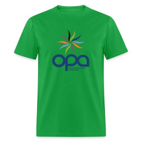 Short-sleeve t-shirt with full color OPA logo - Men's T-Shirt