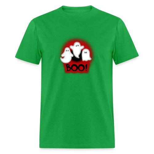 Ghosties Boo Happy Halloween 7 - Men's T-Shirt