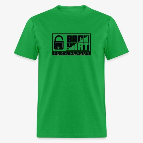 backart - for a reason - Men's T-Shirt