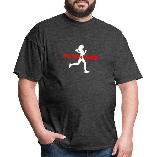 The GYM BEATS - Music for Sports - Men's T-Shirt