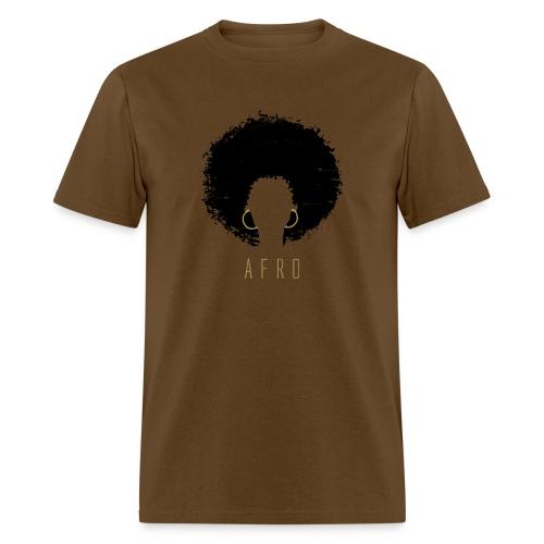 Black Afro American Latina Natural Hair - Men's T-Shirt