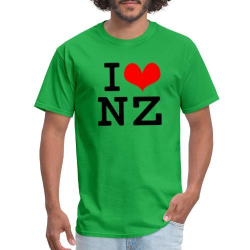 I Love NZ - Men's T-Shirt