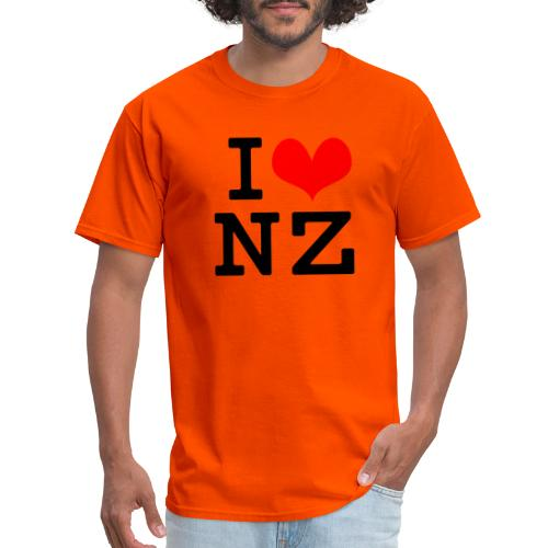 I Love NZ - Men's T-Shirt