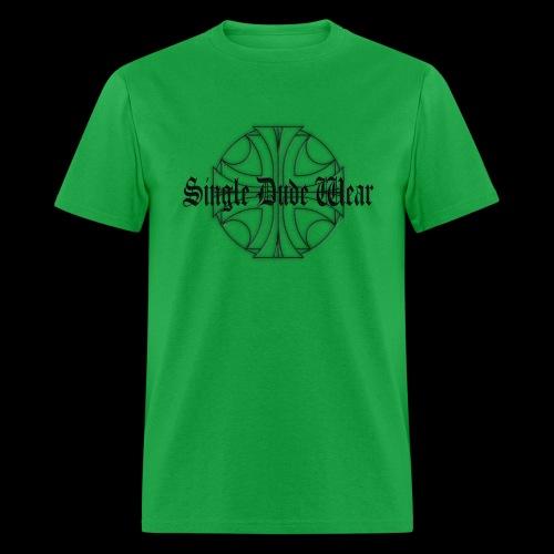SDW maltese old letters dude - Men's T-Shirt