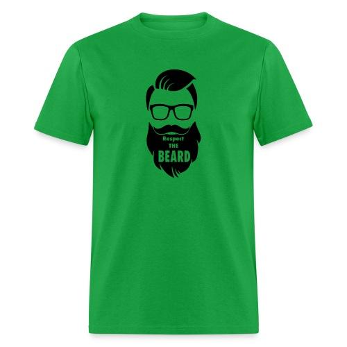 Respect the beard 08 - Men's T-Shirt