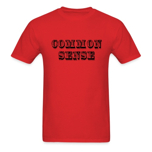 Common Sense Life Hack - Men's T-Shirt