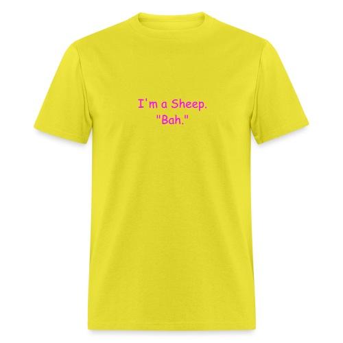 I'm a Sheep. Bah. - Men's T-Shirt