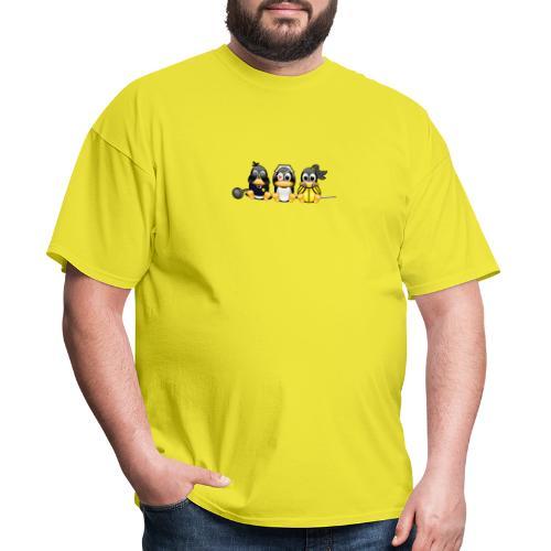 Linus v Bill - Men's T-Shirt
