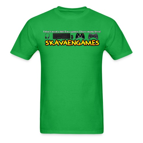 Skavaengames png - Men's T-Shirt