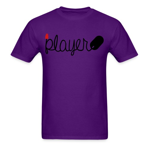 Player-Black - Men's T-Shirt