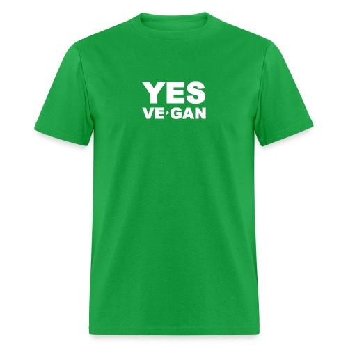 Yes Ve*Gan - Men's T-Shirt