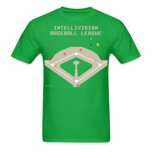 2017 Intellivision Baseball League - Men's T-Shirt
