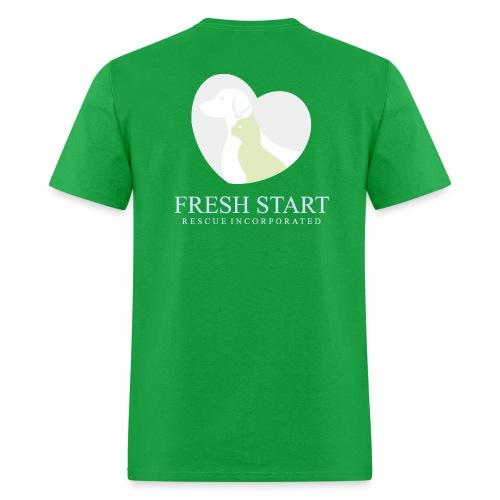 Fresh Start LogoPALE - Men's T-Shirt