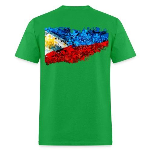 flower flag t shirt png - Men's T-Shirt